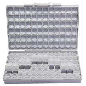 Image 1 - AideTek SMD storage SMT resistor capacitor Electronics Storage Cases & Organizers transparent toolbox storage box plastic BOXALL