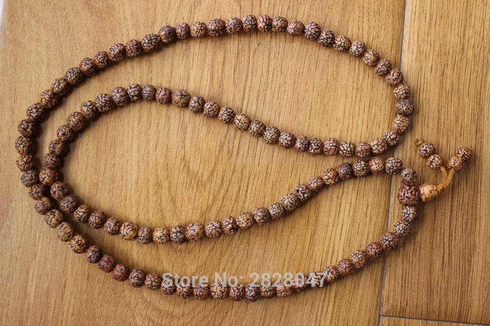 ML137 Vintage Tibetan 108 Beads Old Oiled Rudhedsh Bodhi Seeds Layer Mala 8mm Mala Amulet Բուդդայական ձեռնաշղթա Վզնոց
