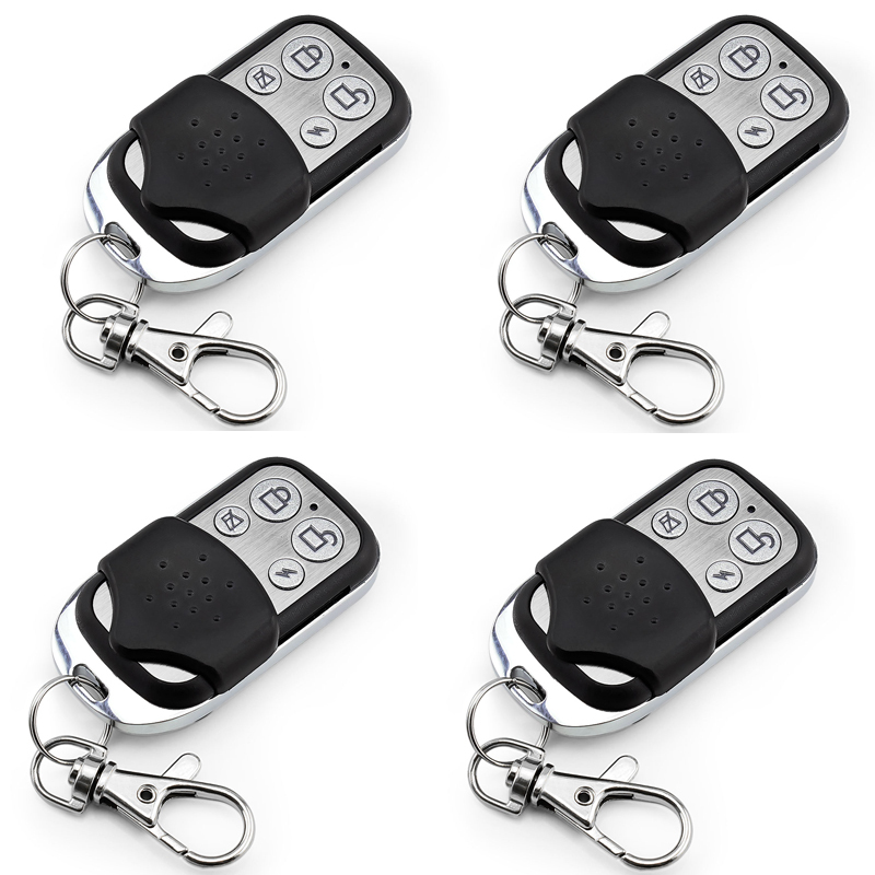 4pcs Wireless Remote Control Controller Keyfobs Keychain 433MHz For Our Alarm System free shipping 3 pieces lot wireless remote control controller keyfobs keychain 433mhz just for our alarm system