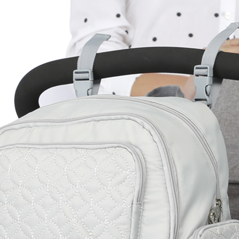 5 Pcs Baby Diaper Bag Large Capacity Baby Care Nappy Bags Multifunction Stroller Hang Tote Mummy Nylon Backpack Mochila BB6029 (3)