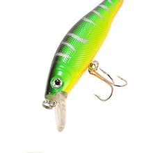 6PCS Bass Fishing Lure Kit 8.5cm 9g Fishing Lures Minnows Wobblers Crankbait Artificial Bait With Hook Fishing Gear Leurre Pesca