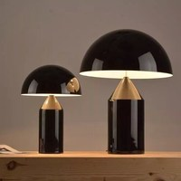 A1 Italy City design table lights luxurious award hotel living room bedroom table lamp mushroom lamp design desk FG923
