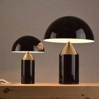 Italy City design table lights luxurious award hotel living room bedroom table lamp mushroom lamp design desk FG923