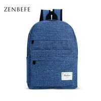 ZENBEFE New Design Backpacks For Laptop Unisex School Bag For Teenagers Durable Women Bags For Travel
