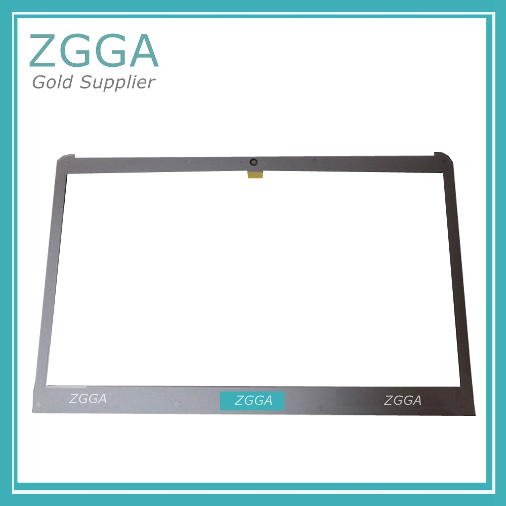 New Front LCD Trim Bezel Cover for Samsung 530U3C 530U3C 532U3C 535U3C NP530U3 NP530U3B Screen Frame Case Silver BA75-03710A hot new laptop top case base lcd back cover for samsung np530u3c 530u3b 535u3c 532u3c 532u3x 532u3c 530u3c np530u3b np530u3c