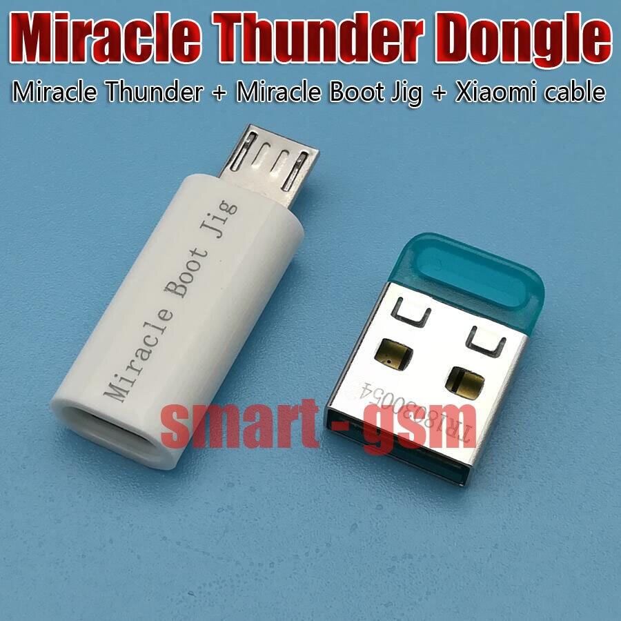 NEWS Miracle Thunder dongle Miracle Thunder pro Miracle Thunder key Miracle Boot Jig and cable dont need Miracle box
