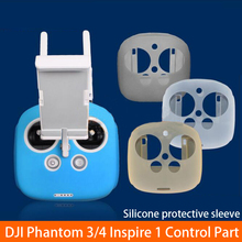 Remote Control Protective Clothes Resistance Soiling Skidproof Silicone Case 4 Colors for DJI Phantom 3 4