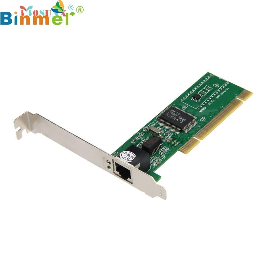 Одежда высшего качества лидер продаж; Новинка 10/100 Мбит/с NIC RJ45 rtl8139d локальной сети Платы PCI адаптер для компьютера PC Jul 11