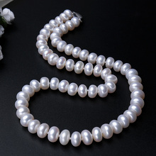 Amazing high quality natural freshwater pearl necklace for women (3 colors )