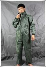 Men waterproof One-piece Work Hooded Coveralls Overall Jumpsuit Boiler Suit Dustproof Male Workshop Uniforms