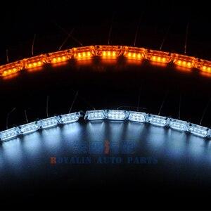 Image 3 - Светодиодные ленты для автомобильных фар ROYALIN, гибкая лента для мотоциклетных фар, поворотники, мягкая трубка