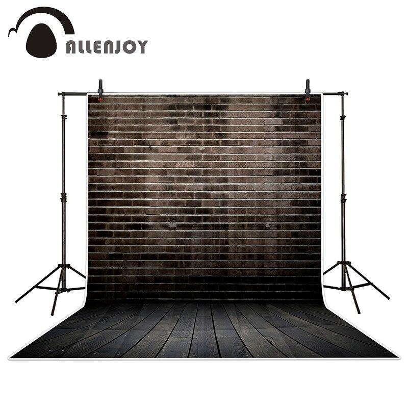 Allenjoy Dark gray brick hue wood brick wall backgrounds for photo studio vinyl photography backdrops allenjoy photography backdrops green paint on wooden background wood brick wall backgrounds for photo studio