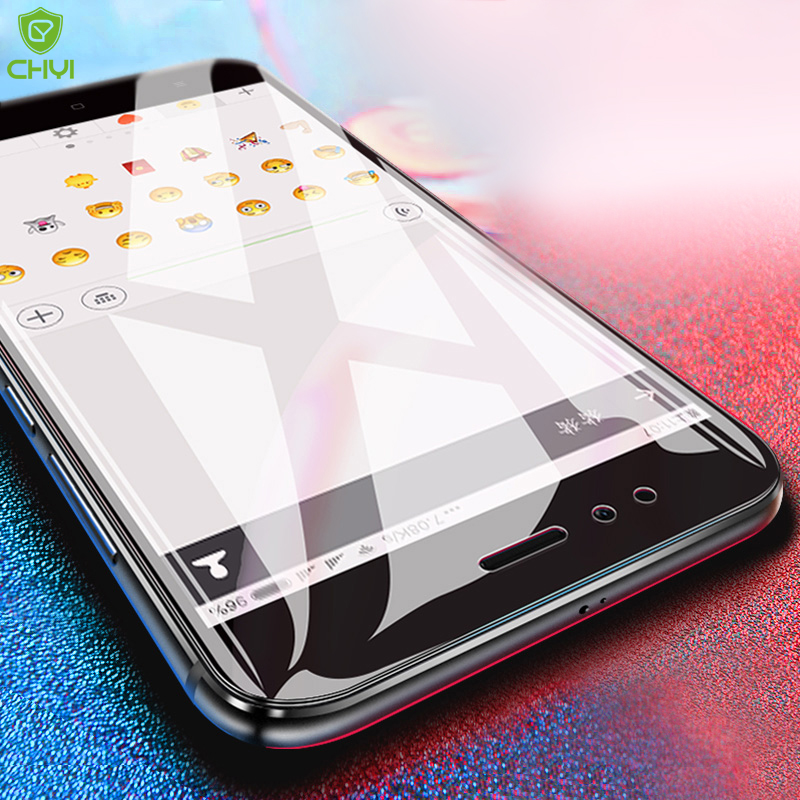 Chyi Protective Glass For Xiaomi Mi A1 8 Se Note3 Tempered