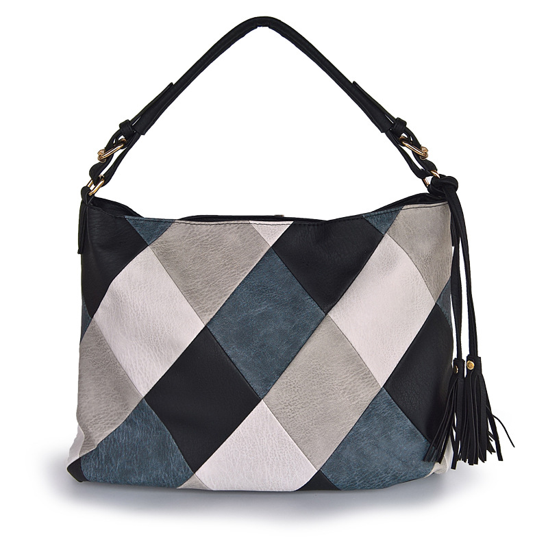 Luxury Handbags <font><b>Women</b></font> <font><b>Bags</b></font> Designer Casual Tote <font><b>Shoulder</b></font> <font><b>Bags</b></font> <font><b>For</b></font> <font><b>Women</b></font> <font><b>2018</b></font> Patchwork Ladies Hand <font><b>Bag</b></font> PU Leather <font><b>Big</b></font> sac bolsa image