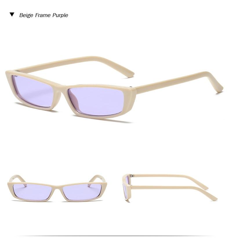 HTB1gyYjh4PI8KJjSspoq6x6MFXas - Vintage Rectangle Sunglasses Women Brand Designer Small Frame Sun Glasses Retro Black Eyewear