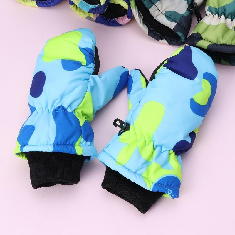 Mutter & Kinder Jungen Kleidung Maylisacc Heißer Kinder Winter Warme Gestrickte Handschuhe Voll-finger Handschuhe Für 4-8 Jahre Alten Jungen Mädchen Im Freien Sport Skating Handschuhe