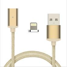 Нейлон Магнитного Кабель Для Молнии и Micro USB Type-C адаптер Быстрой Зарядки И Для Андроид Для iPhone Для Type-C адаптер