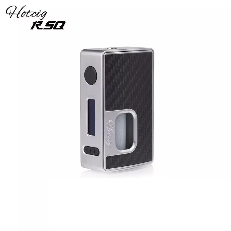 Original Hotcig RSQ 80W Squonk mod 80W Squonker e-cig vape mod with HM Chip 7mL Squonk Bottle Designed by Vaping AMP Rig Mod WW original hotcig squonk box mod bf rsq 80w rsq squonk box mod rsq 80w box mod