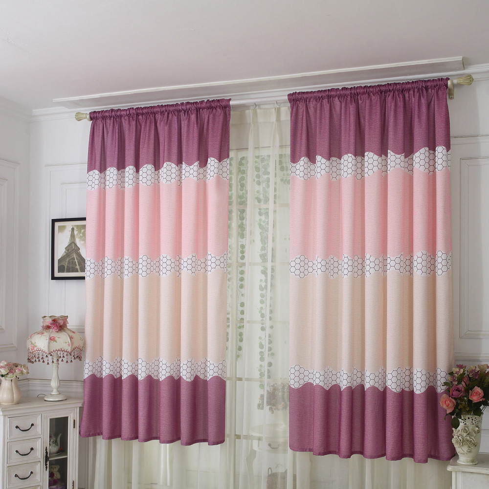 Curtain Tulle Window Treatment Voile Drape Valance 1 Panel Fabric Curtains 2019 Hot Sale Lowest Price