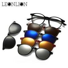 Мужские и женские солнцезащитные очки leonlion роскошные брендовые