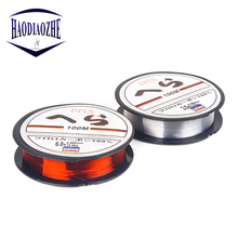 купить Line Super Strong Nylon Fishing Line 100M 4-40LB Monofilament Line Japan Material Fishline for Carp Fishing Line Pesca онлайн