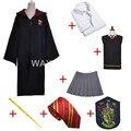Gryffindor Hermione Granger Uniforme Cosplay Traje Adulto de la Versión de Algodón Fiesta de Halloween Nuevos Regalos para harry potter cosplay