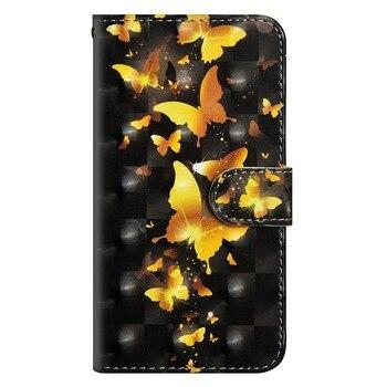 3D Flip PU Leather Case Fundas For Lenovo  1