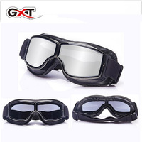 2018 Summer New GXT Motocross Motorcycle Goggles Carding Harley Style Motorbike goggles Outdoor sports wind mirror Sunglass PVC