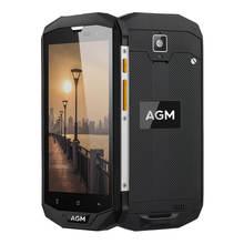 """AGM A8 SE 5.0 """"Qualcomm MSM8916 IP68 Étanche Android 7.0 4G Mobile Téléphone 2 GB/4 GB RAM 16 GB/64 GB ROM 8.0MP 4050 mAh smartphone"""
