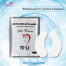 50 Pair Super Thin Eyelash Extension Eye Patches Tools Eyelashes Extension Hydrogel Pads Lint Free Pirate Patch