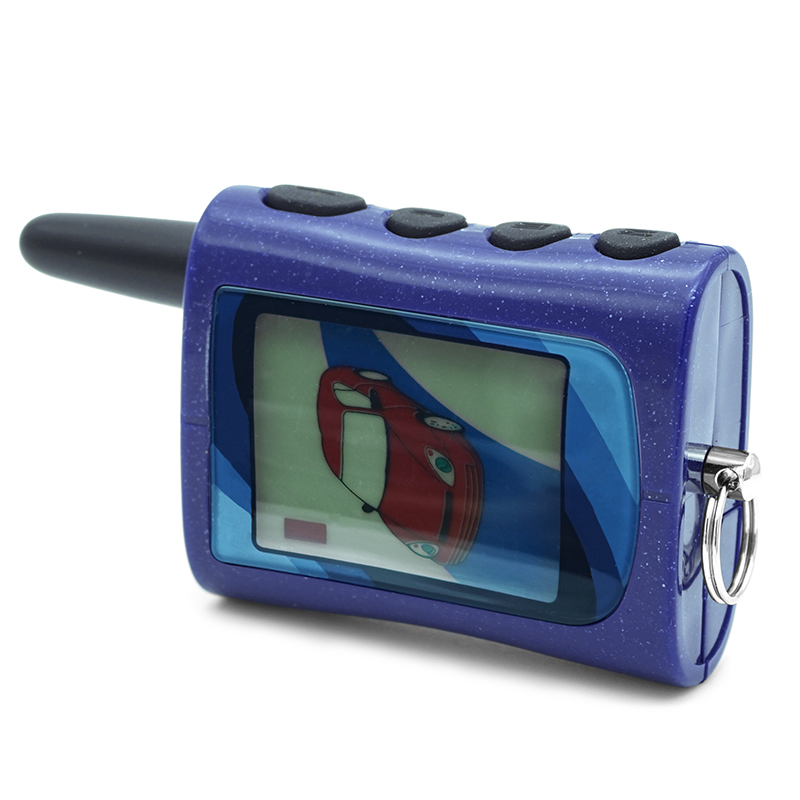 Free Shipping MA LCD Remote for Scher-Khan magicar A Lcd two way car alarm system magicar A