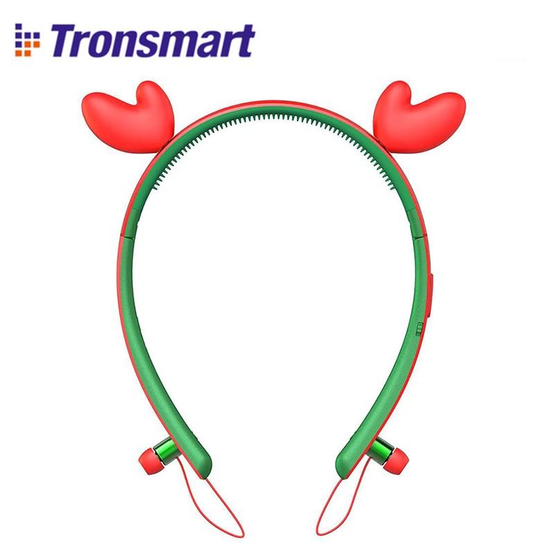 Tronsmart Encore Wink Deer Ears Bluetooth Headphones with LED light bluetooth earphone wireless headphones bluetooth headset барбра стрейзанд barbra streisand encore movie partners sing broadway lp