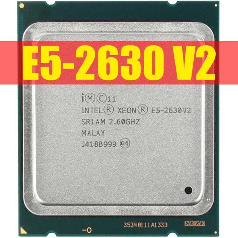 HTB1gy salKw3KVjSZFOq6yrDVXaQ Intel Xeon E5 2630 V2 Server processor SR1AM 2.6GHz 6-Core 15M LGA2011 E5-2630 V2 CPU 100% normal work