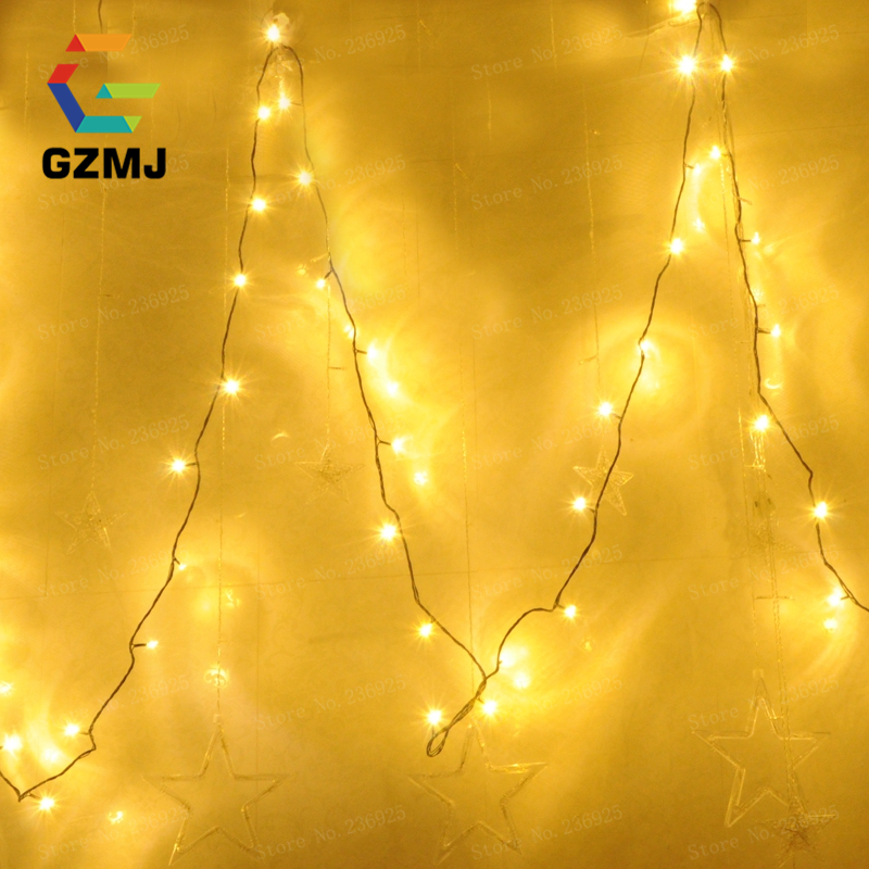 10M 80LED New 9Colors Creative LED String Lights Outdoor/Indoor Night Wedding/Party/Home Decorations Holiday Fairy Lights H-07