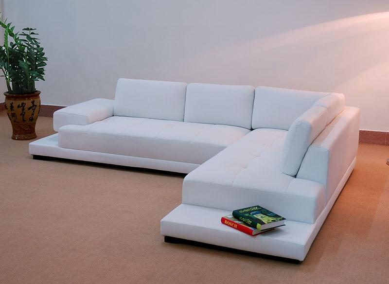 Latest sofa design leather sofa s863 in living room sofas - Latest leather sofa designs ...