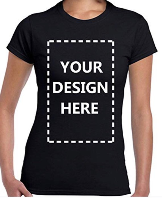 Female customized men 39 s or female t shirt print your own - How to design your own shirt at home ...