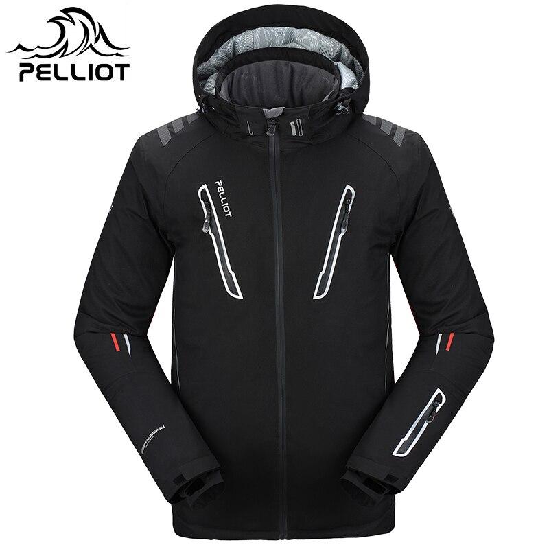 2018 Пелльо Лыжная куртка мужская водонепроницаемый, дышащий тепловой сноуборд из пальто Бесплатная доставка! гарантия подлинный!