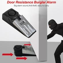 150 dB Door stop stopper Alarm Block Blocking System Women Baby hotel Safety Protector Door Stops недорого