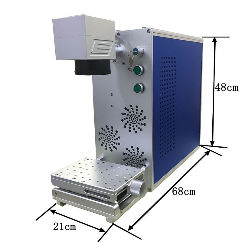 Metal Laser Making 20W Fiber Laser Engraving  Portable Carve Machine  Engrave For Gold/Sliver Stainless Steel/Plastic