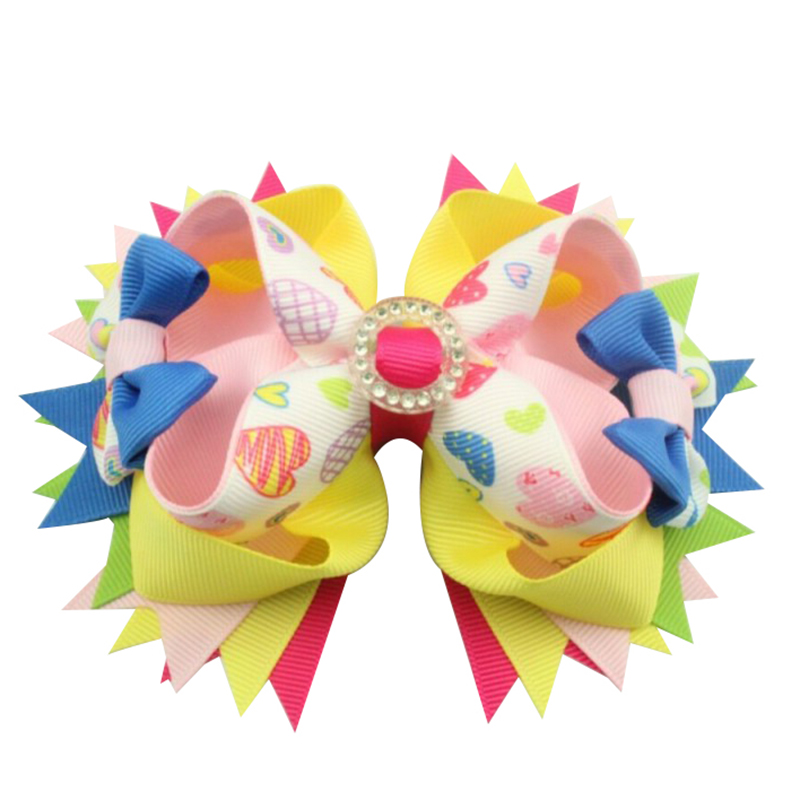 Adogirl 2017 New Big Bowknot Barrette Hair Clips Multi Colors Girl Women Super Beauty Fabric Fashion Hair Accessories Chidren