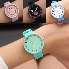 New Silicone Wrist Watch Women Watches Ladies Top F