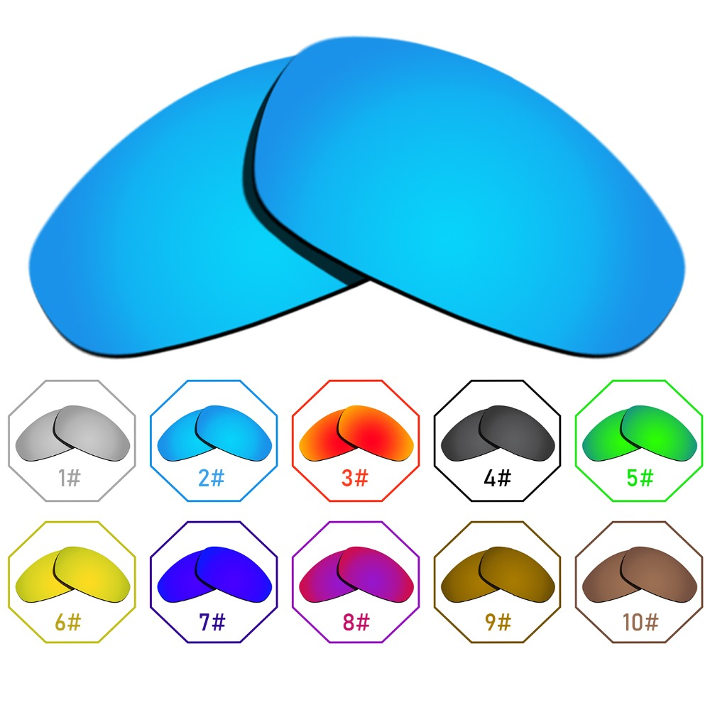 Polarized Replacement Lenses for Juliet Frame - Many Colors Anti-reflective Anti-water Anti-scratch
