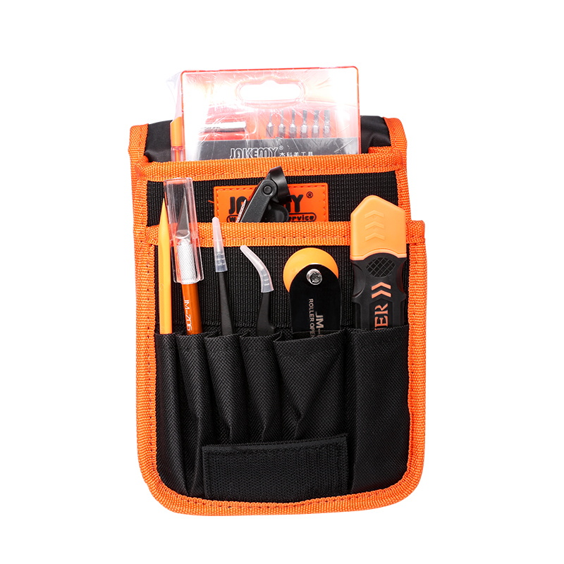 Jakemy JM-P11 70 In 1 Portable Electronic Precision Kit Disassemble Opening Tool For Iphone Hand Tool set Organizer Storage Bag jakemy jm p03 16 in 1 primary diy welding soldering tool set for pcb board