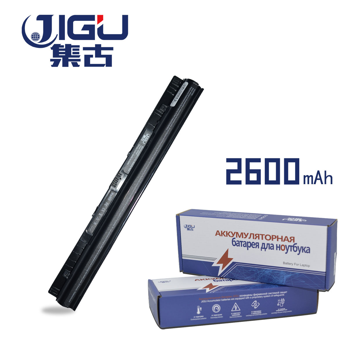 JIGU High Qualiy Laptop Battery FOR LENOVO L12M4A02 L12M4E01 L12S4A02 L12S4E01 IdeaPad G400s G410s G500s S510p S410p Z710 new laptop charge socket port dc power jack harness cable for lenovo ideapad z710 z710 5938 z710 5939 z710 5940 z710 20250