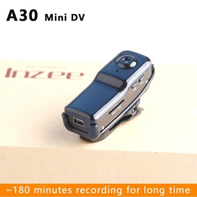 A30 Mini DV Camcorder DVR Video Camera Webcam Support 32GB HD Cam Sports Helmet Bike Motorbike micro Camera Video Audio Recorder