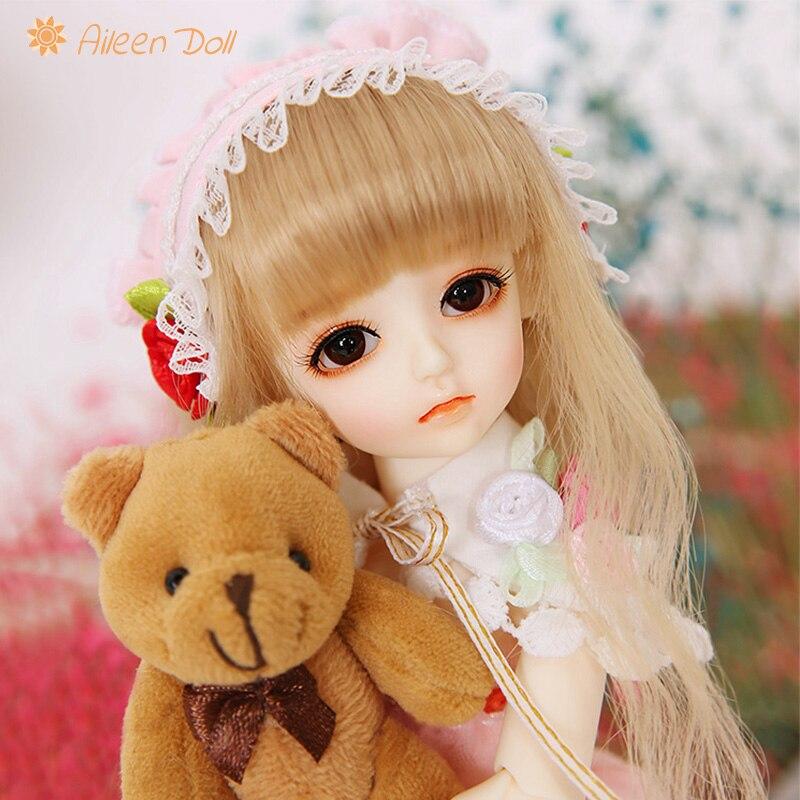 Aileendoll Хани Анж нари BJD SD куклы 1/6 модель тела для девочек и мальчиков высокое качество игрушки магазин каучуковые фигурки полный набор подар...