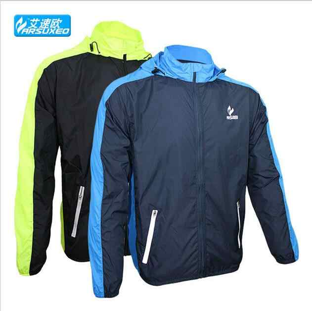 outdoor sports riding cycling bike bicycle running Jacket raincoat jersey windproof Waterproof Pack