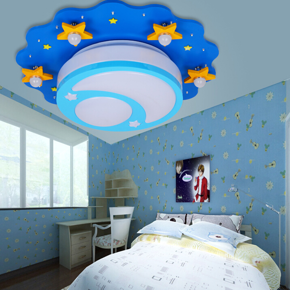 Kids bedroom ceiling lights - Top Led Kids Ceiling Light 110v 220v Home Decor Acrylic Shade Flush Mount Led Ceiling