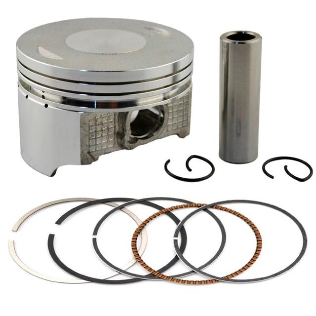 Bore 66mm Motorcycle +50 Piston&Piston ring & Clip Kit For HONDA SL230 97-14/CRF230 03-15/FTR230 03-05/XR230 03-08/ FTR223 00-13