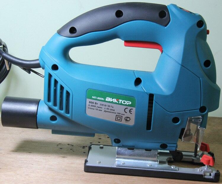 800W Jig piła elektryczna elektronarzędzia do obróbki drewna wielofunkcyjna piła łańcuchowa piły ręczne do cięcia drewna z laserem